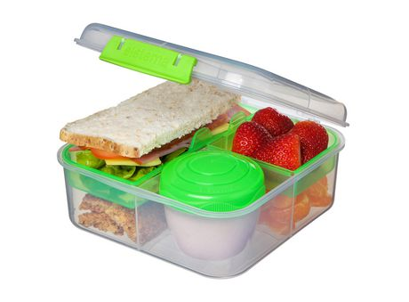 Sistema To Go Bento Lunch Box Food Storage Container