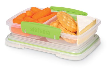 Sistema To Go Small Split Food Storage Container Walmart Canada