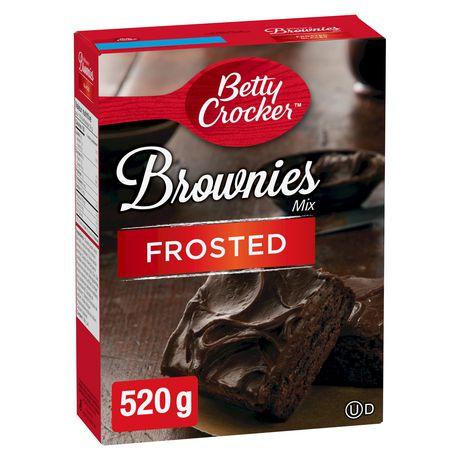 Betty Crocker Mélange à brownies Sachet de Glacage Cremeux de Luxe inclus - image 1 de 9
