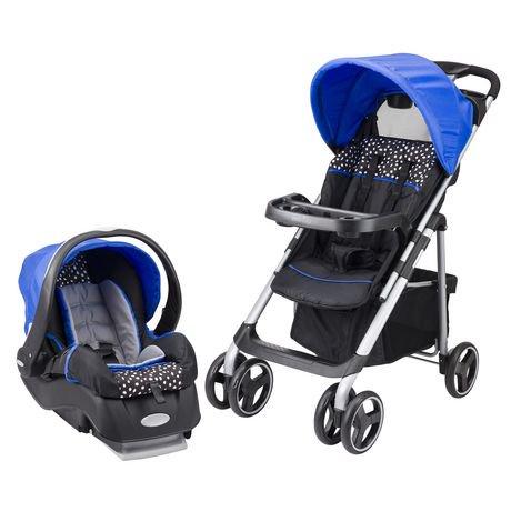 Evenflo® Vive Hayden Dot Embrace LX Infant Car Seat Travel System ...