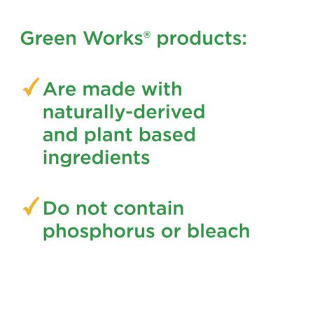 Green Works Glass & Surface Cleaner Spray, 946 mL - image 3 of 6