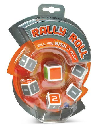 Blue Orange Rally Roll Dice Game - image 1 of 1