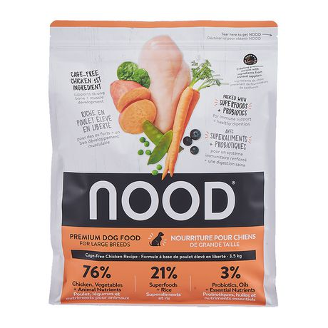 NOOD Large Breed Cage-Free Chicken and Lentil Dry Dog Food - image 2 of 9
