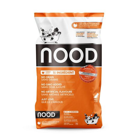 NOOD Large Breed Cage-Free Turkey and Lentil Dry Dog Food - image 1 of 9