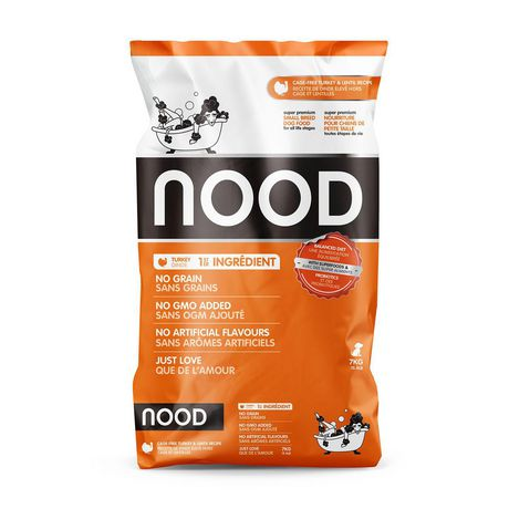 NOOD Small Breed Cage-Free Turkey and Lentil Dry Dog Food - image 1 of 9