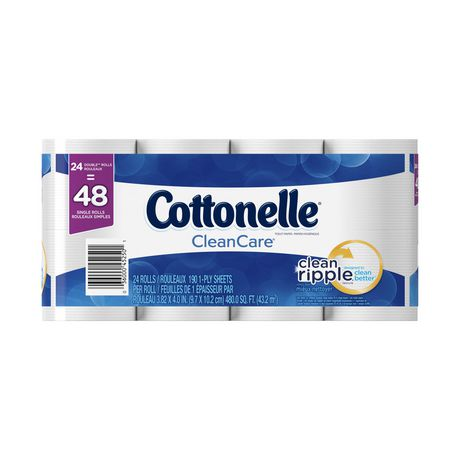 Cottonelle Clean Care Double Roll Toilet Paper - image 1 of 5
