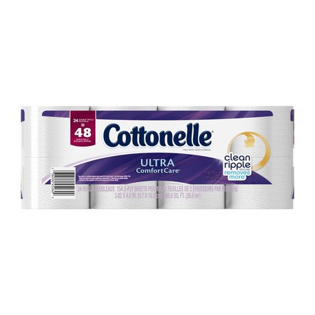 Cottonelle Ultra Comfort Care Double Roll Toilet Paper - image 1 of 5