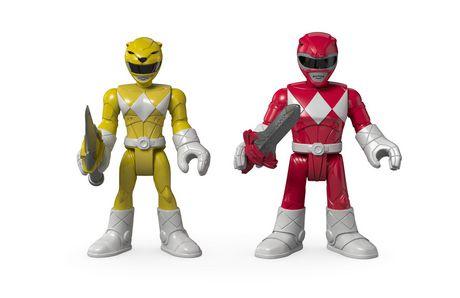 Fisher-Price Imaginext Power Rangers Red Ranger & Yellow Ranger Figures - image 2 of 8