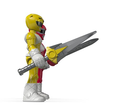 Fisher-Price Imaginext Power Rangers Red Ranger & Yellow Ranger Figures - image 5 of 8