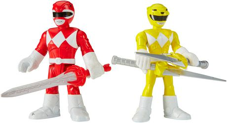 Fisher-Price Imaginext Power Rangers Red Ranger & Yellow Ranger Figures - image 7 of 8