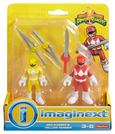 Fisher-Price Imaginext Power Rangers Red Ranger & Yellow Ranger Figures - image 8 of 8