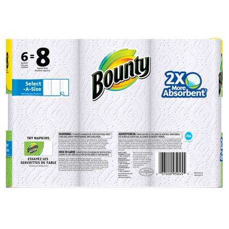 Bounty® Select-A-Size™ Paper Towels, White - image 2 of 6