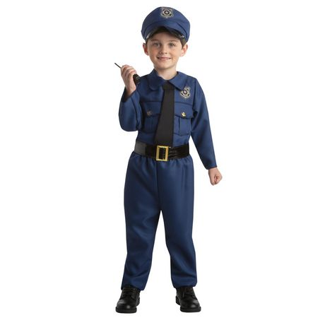Toddlers' Tiny Policeman costume 3T-4T. Walmart Exclusive. - image 1 of 3