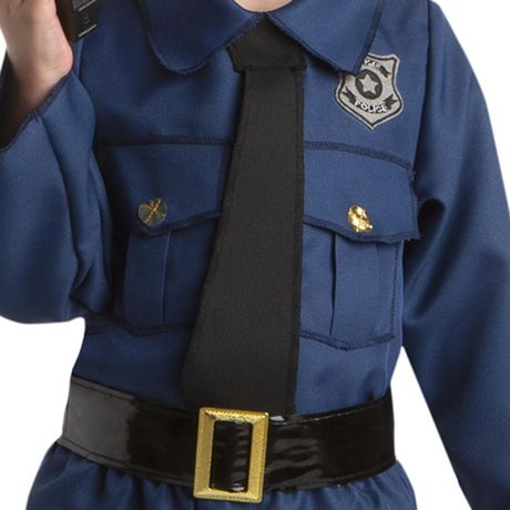 Toddlers' Tiny Policeman costume 3T-4T. Walmart Exclusive. - image 3 of 3
