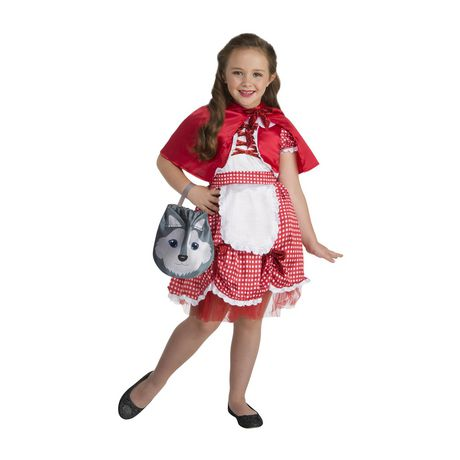 Toddlers' Little Red Costume 3T-4T. Walmart Exclusive. - image 1 of 3
