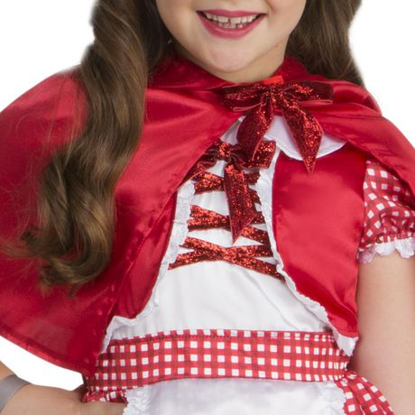 Toddlers' Little Red Costume 3T-4T. Walmart Exclusive. - image 2 of 3