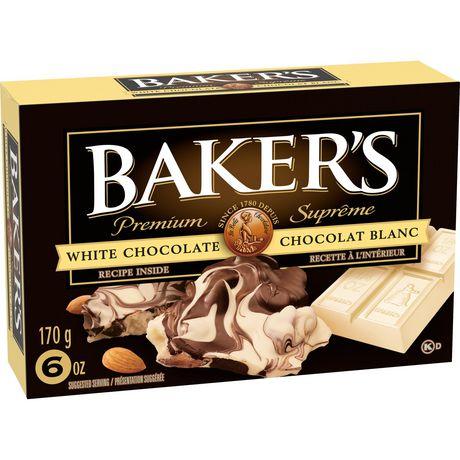 Baker's 100% Pure Premium White Chocolate Baking Bar - image 2 of 4