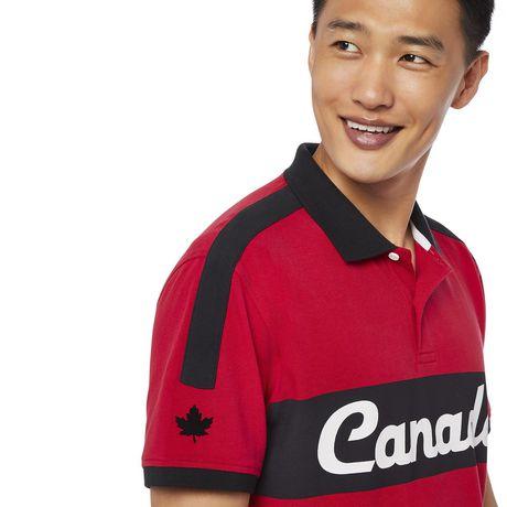 Polo à manches courtes Canadiana Plus pour hommes - image 4 de 6
