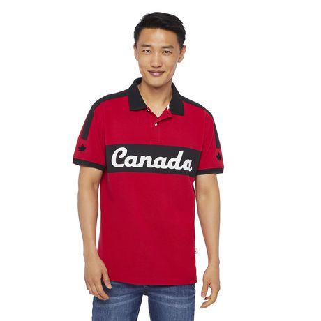 Polo à manches courtes Canadiana Plus pour hommes - image 1 de 6