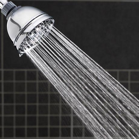 Water Pik Inc Waterpik 6-Mode Shower Massage Chrome Shower Head - image 4 of 5
