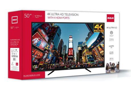 Téléviseur UHD 4K RCA 50po - image 4 de 4