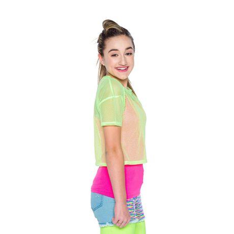 Girl's Mini Pop Kids Neon Bright Top - image 2 of 5
