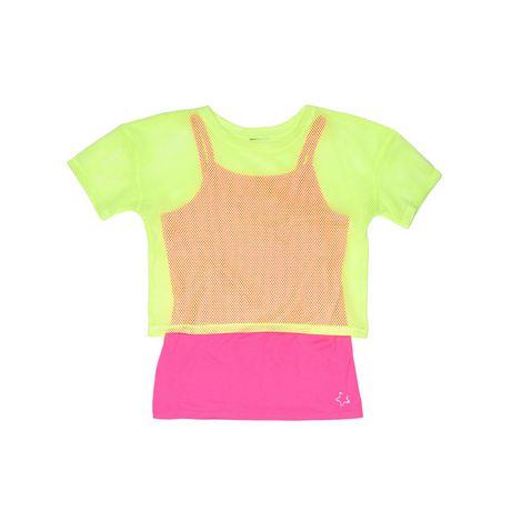 Girl's Mini Pop Kids Neon Bright Top - image 5 of 5