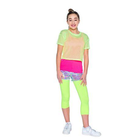 Girl's Mini Pop Kids Neon Bright Top - image 1 of 5