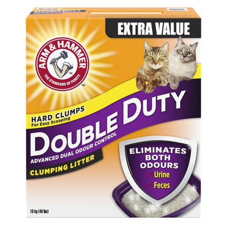 Arm & Hammer  Double Duty Advanced Odour Control Clumping CAT Litter - image 1 of 2