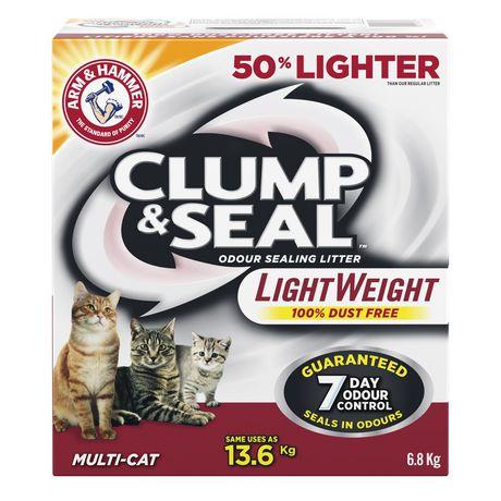 Litière Agglomérante et Scellante d'ARM & HAMMER Multi-Chat légère pour chats - image 1 de 2