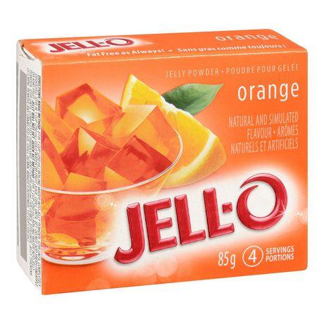 Jell-O Orange Jelly Powder, Gelatin Mix - image 2 of 4