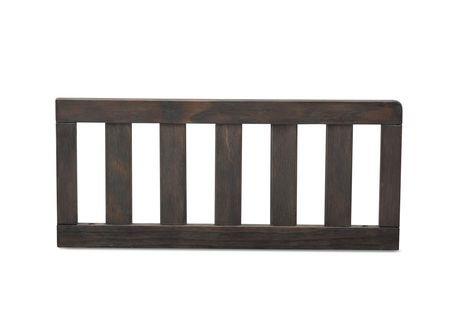 Serta Toddler Bed Guardrail Rustic Grey