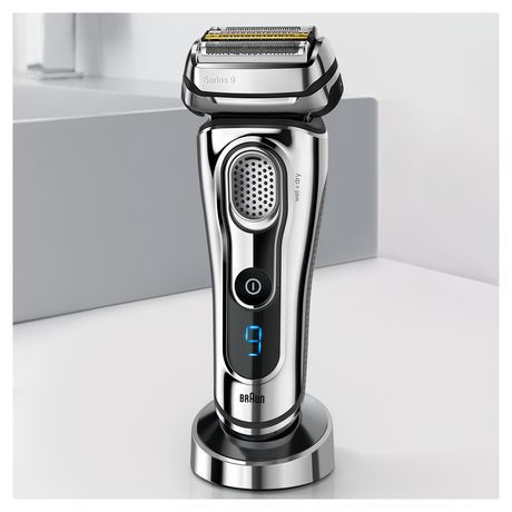 braun series 9 9295cc electric shaver with clean charge station walmart canada. Black Bedroom Furniture Sets. Home Design Ideas