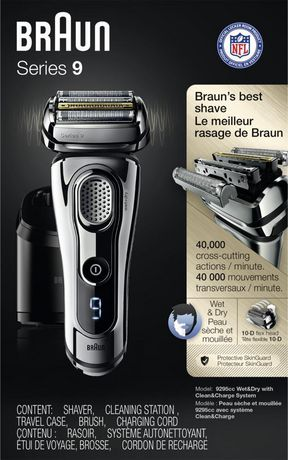 Braun Series 9 9295CC Electric Shaver with Clean & Charge Station - image 4 of 6