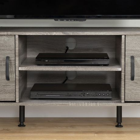 """South Shore Evane TV Stand with Doors for TVs up to 55"""", Oak Camel - image 5 of 8"""