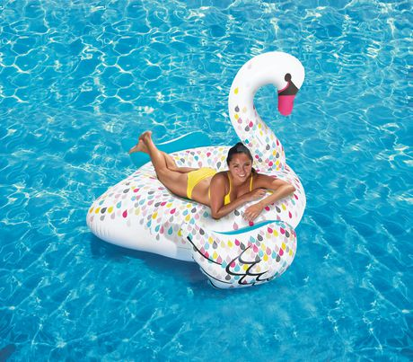 Play Day Large Swan Pool Float Walmart Canada