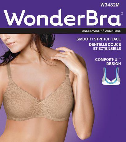 dc12dec0daaba WonderBra Smooth Stretch Lace Underwire Bra - image 2 of 2 ...