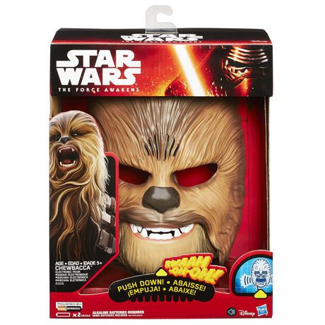Star Wars The Force Awakens Chewbacca Electronic Mask - image 3 of 4