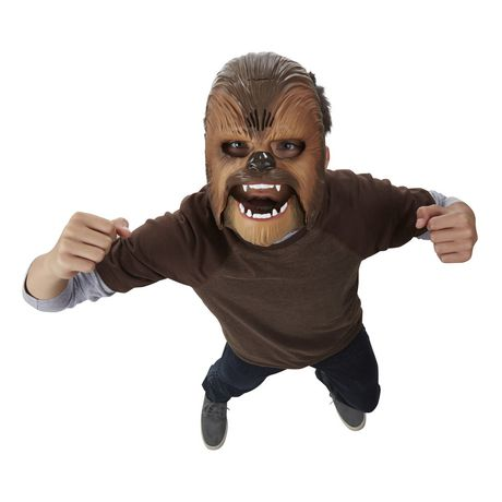 Star Wars The Force Awakens Chewbacca Electronic Mask - image 2 of 4