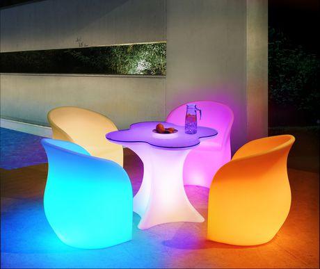 Sunjoy Led Single Table Patio Furniture Walmart Canada
