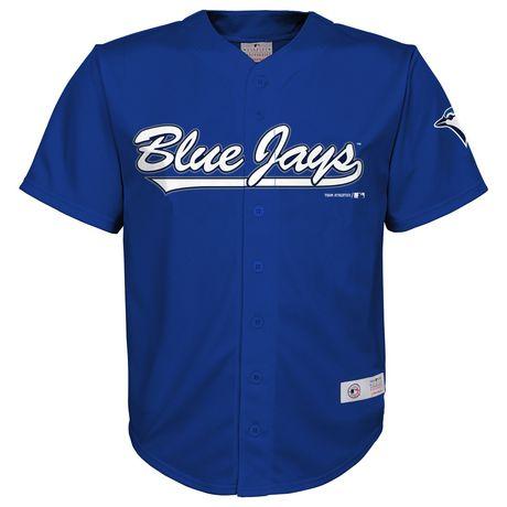 huge selection of 264a0 6d9c1 MLB Toronto Boys' Blue Jays Youth Team Jersey