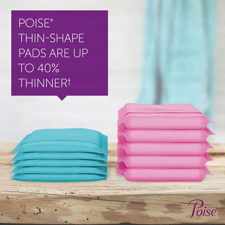 Poise Ultra Thin Incontinence Pads, Light Absorbency, Unscented, Regular (30 Count) - image 5 of 7