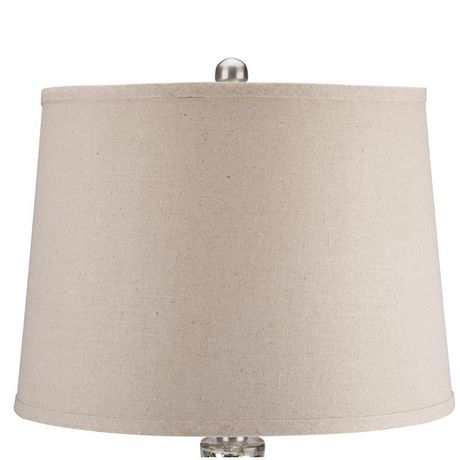 Cresswell Silver Mercury Glass Finish Table Lamp - image 3 of 8