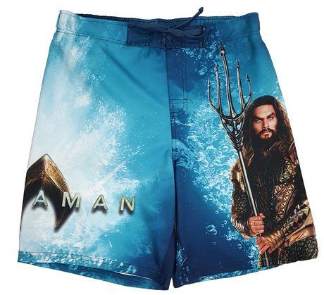 Aquaman Men's Swim Shorts - image 1 of 1