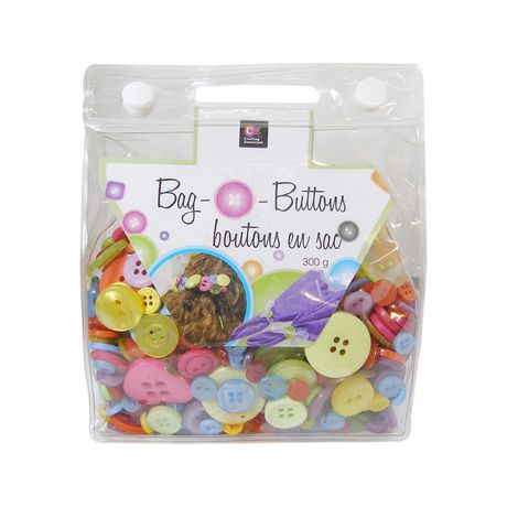 Crafting Essentials  Bag O' Buttons Brights Buttons - image 1 of 1