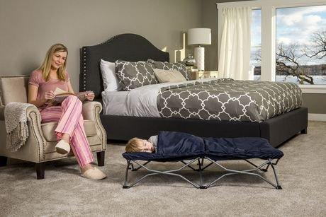 lit de voyage portatif de luxe my cot de regalo international walmart canada. Black Bedroom Furniture Sets. Home Design Ideas