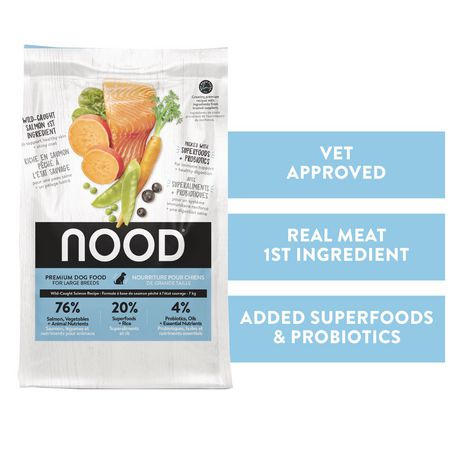 NOOD Large Breed Sustainable Salmon and Lentil Dry Dog Food - image 1 of 9