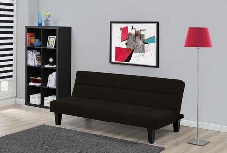 Canapé-lit futon noir Kebo de DHP - image 4 de 5