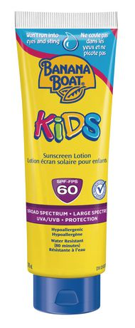 Banana Boat Kids Tear Free Spf 60 Sunscreen Lotion - image 1 of 1