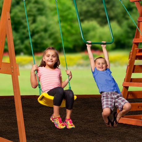Backyard Discovery Madison Swing Set - 1605015 | Walmart ...
